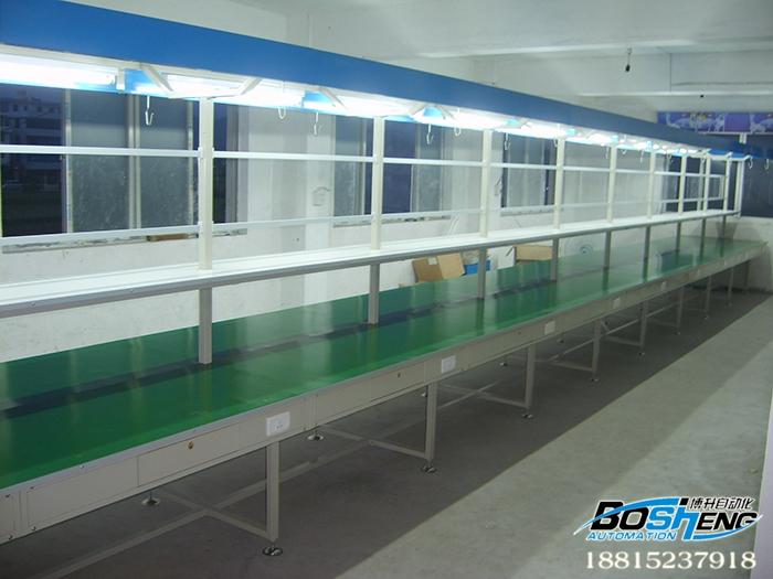 单立柱桌板流水线