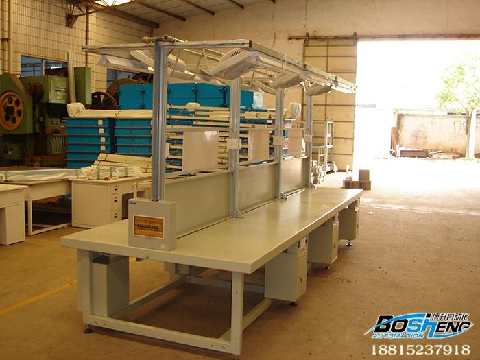 铁板台面桌板线