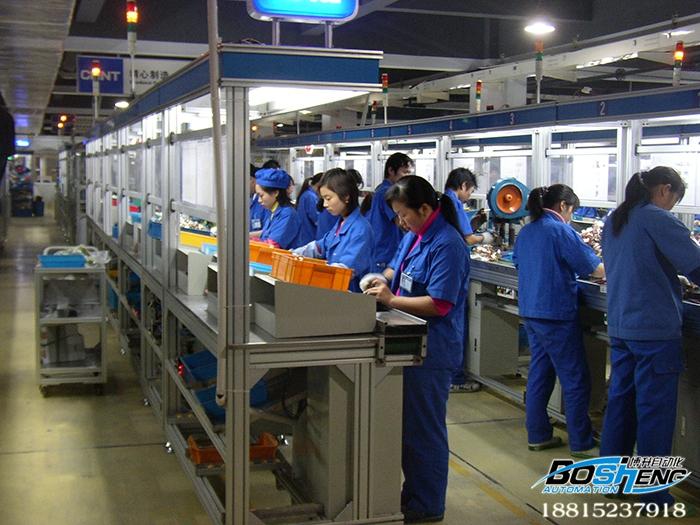 铝合金装配生产线