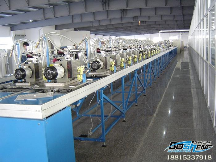 真空泵检测生产线