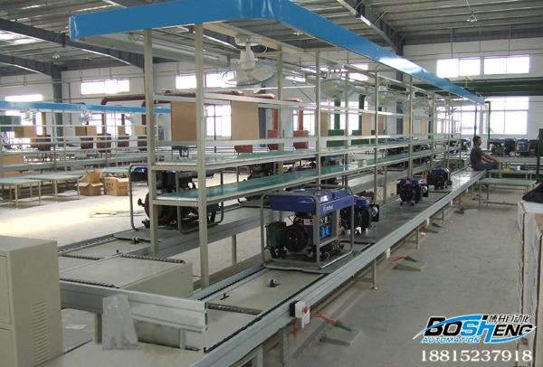 发电机组组装线