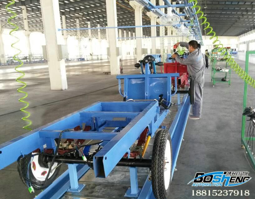 三轮电动车装配流水线