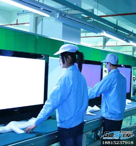 液晶电视生产流水线
