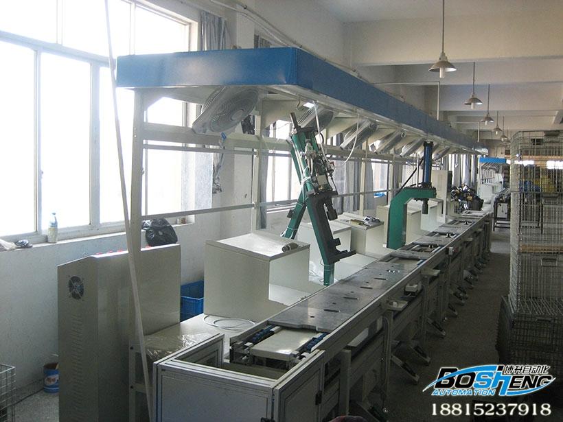水泵装配线